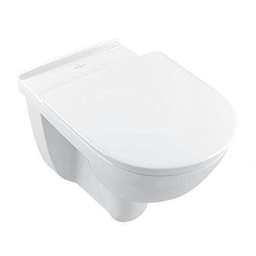V+B O.novo vita WWC tief Sitzhöhe 460 mm, spülrandlos DirectFlush Ceramicplus