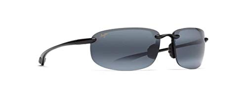 Maui Jim Hookipa Gloss Black Polarizzato 407-02