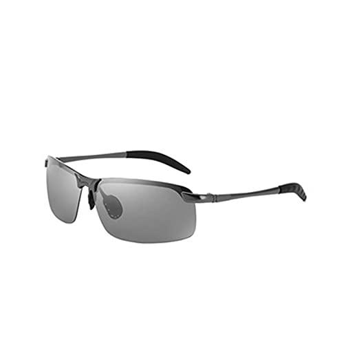 Zhantie Gafas de sol fotocromáticas polarizadas para conducción al aire libre, gafas prácticas de día y noche para hombre