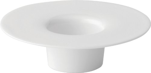Utopia Anton Black Fine China, Z03206-000000-B01006, Mini Wide Rimmed Vaatwasser/Shot Holder 4.5