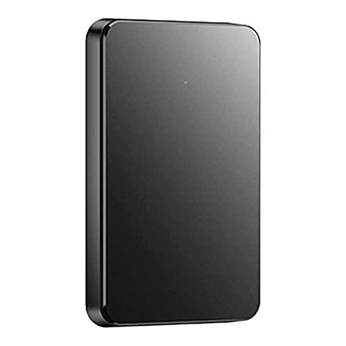 AnAnmei Disco Duro móvil, Usb3.0 Almacenamiento de Disco Duro, portátil 1TB 2TB Disco Duro Externo, Compatible con Windows7 / 8/10, Mac 10.6 y Arriba, 2tb (Size : C)
