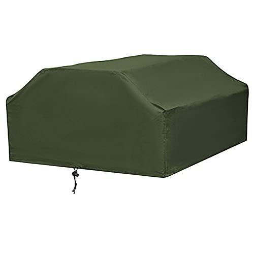 Cubierta Suave para Muebles 80x185Cm Impermeable Anti Polvo de Lluvia Nieve Picnic Sofá Mesa Cubierta para Silla Jardín al Aire Libre Patio Muebles Cuadrados Mantel 210D (Color: 185X80cm)