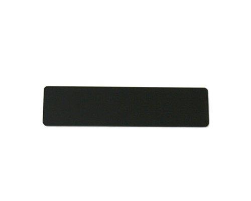 光 Rプレート無地(アクリル黒 テープ付) 30×120mm 00872843-1 RK401-T