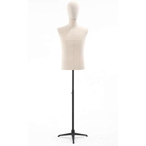 Tailors Dummy jurk vormen Mannelijke Dressmaking Mannequin Manikin Shop Showcase Raam, Verstelbare Hoogte Voor Kleding Store mannequin volledige lichaam
