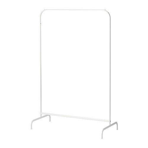 IKEA MULIG - Rack-Kleidung, weiß - 99x46 cm