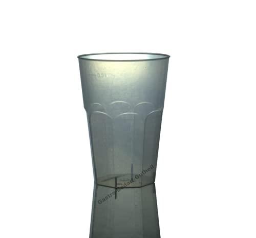 Gastro-Bedarf-Gutheil 30 bruchfeste Cocktail Becher Trinkbecher 0,3 l 300ml Mehrweg Mehrwegbecher