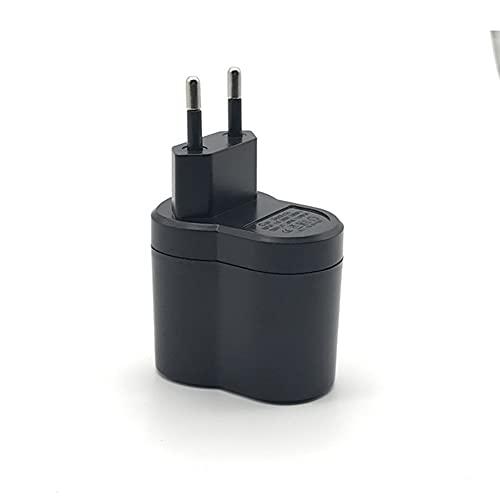 Convertidor de Corriente para Coche, Trpambvia 110V-220V AC a 12V DC Adaptador de Fuente de Alimentación para Automóvil Enchufe de La Ue Convertidor de Encendedor de Cigarrillos