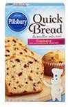 Pillsbury Cranberry Flavored Quick Bread Muffin Mix 15 6 oz product image