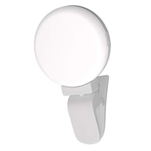 IPOTCH Flash LED Luz 9 Bombillas para Móvil Inteligente Tableta...