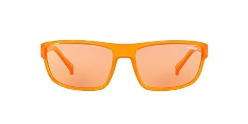 Arnette 0AN4259 Gafas de sol, Transparente Orange, 63 para Hombre
