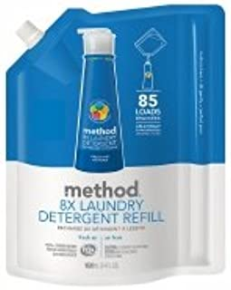 method Laundry Detergent Refill, 85 Loads, Fresh Air - 2pc