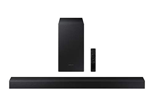 SAMSUNG HW-T450 2.1ch Soundbar with Dolby Audio (2020) (Electronics)