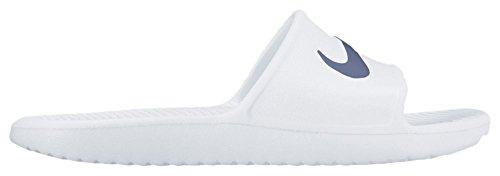Nike Kawa Shower, Zapatillas de playa y piscina para hombre, (100 White Blue Moon), 7