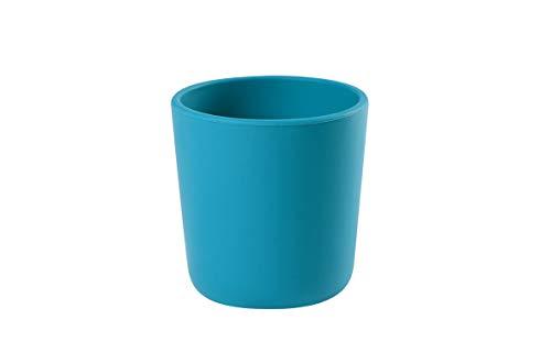 Beaba - Bicchiere In Silicone, Blu