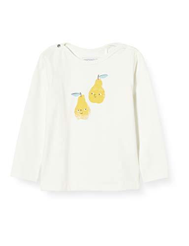 Imps & Elfs U Slim T-Shirt Ls Wellington, Écru (Marshmallow P157), 58 (Taille Fabricant: 56) Mixte bébé