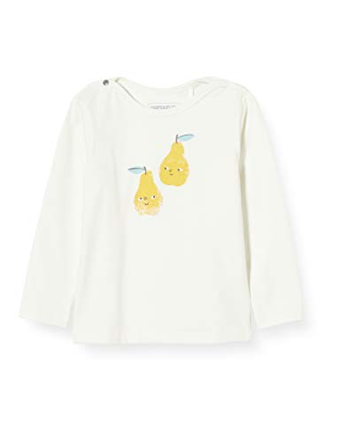 Imps & Elfs Baby-Unisex U Slim ls Wellington T-Shirt, Elfenbein (Marshmallow P157), (Herstellergröße: 86)