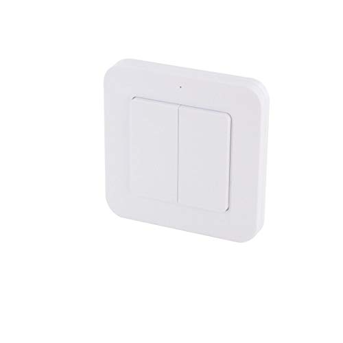 Interruptor doble inalámbrico interior – DiO 1.0
