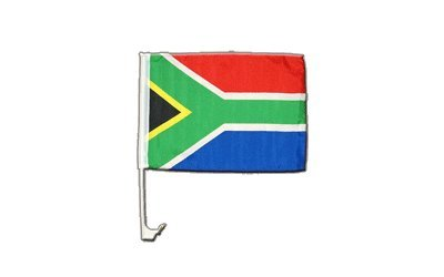 Digni Drapeau de voiture Afrique du Sud - 30 x 40 cm