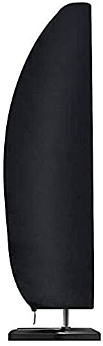 wsbdking Cubierta de Parasol en voladizo, Cubierta de Parasol Impermeable con Vara, Anti-UV Resistente a la Resistencia al Viento, para Parasol en voladizo (Paraguas Recta: 200x30x50cm)