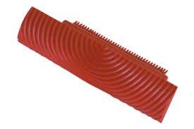 Tampone in gomma per effetto legno 13 cm