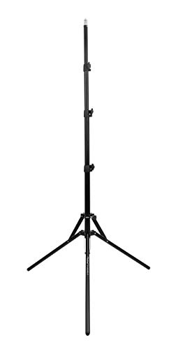 Photron Stedy 850 Reversible Light Stand with Bag for Studio Photography | Ring Light | Reflector | Softbox | Umbrella | Max. Working Height - 1670mm(5.4Feet) | Load Capacity - 3kg