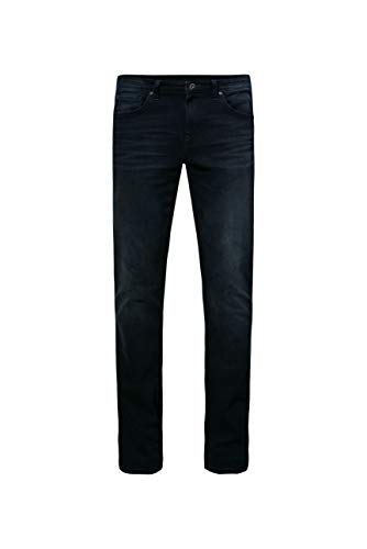 Camp David Herren Dunkle Used-Waschung Jeans
