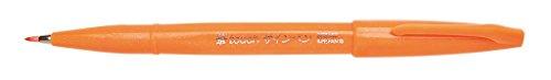 Pentel SES15C-F Feutre Pinceau en souple à base d'eau pour Croquis Orange