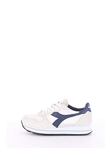 Diadora F9606 Sneaker Donna White/Blue Heritage Camaro Stone Wash Shoe Woman [39]