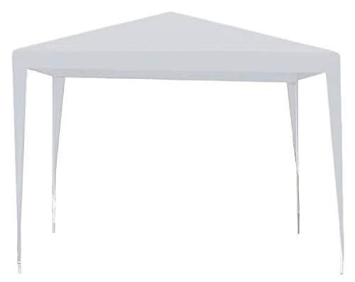 MT MALATEC Ersatzdach für Pavillon 2,90x2,90m Wasserdicht 110/m2 9924, Farbe:Weiß