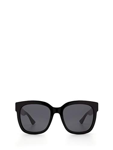 Gucci Moda De Lujo Mujer GG0034S001 Negro Acetato Gafas De Sol | Temporada Permanente