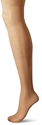Hanes Silk Reflections Women's Plus Size Curves Silky Sheer Pantyhose HSP002, Barely There, 3X/4X