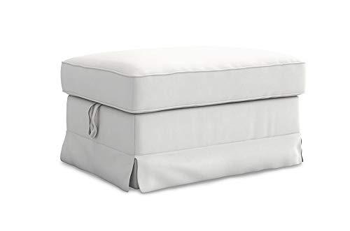 TLY Ektorp - Funda de algodón para reposapiés IKEA Ektorp Ottoman Slipcover de Repuesto