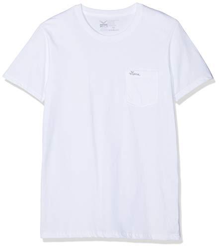 Trigema 639209 T-Shirt, Bianco (Weiss/C2c 501), Medium Uomo