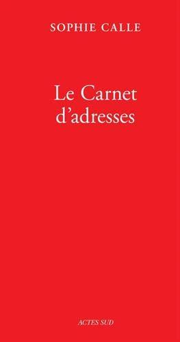 Le carnet d'adresses (livre vi) - fermeture et bascule vers 9782330128913 (Photographie)