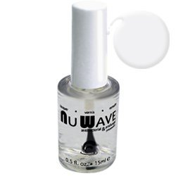 Nu Wave Nail Polish, Antifungal, Shiny Topcoat, NW-TOPL, .5 Fl. Oz., Ea