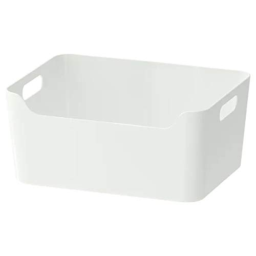 IKEA VARIERA -Box Hochglanz-weiß - 34x24 cm