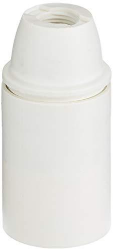 Arditi - Portalámparas termoplástico, 1 unidad de tres piezas con casquillo E14, 500 Tp/Tpmv/Asftp/Fmc/T190/Bi/Ean1/S10, 100, /M/Pde/E14 - 019045-017303-029555