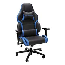 RESPAWN 400 Big and Tall Racing Style Gaming Chair, in Blue (RSP-400-BLU)