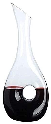 Decantador Decantador de whisky Decantador de vino Decantador de vino Decantador rápido Pequeño vino jarra de vino bodega de vino Crystal Decanter Set - 100% mano soplado cristal cristal vino rojo jar