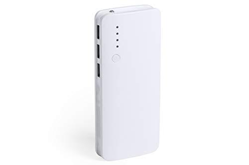 MKTOSASA - Power Bank 10000mAh con Linterna Integrada. 3 Salidas USB para...