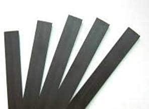 Customized Fridge Magnet Sheet Strips (1 inch x 12 inch, 5 Strips), Magnetic Sheet Strips, Personalized Fridge Magnet Strips
