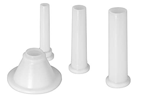 WOLFCUT Füllrohr-Set Tubo de llenado, plástico, Blanco