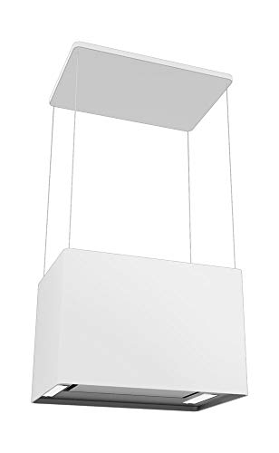 AMICA Lampenhaube IH 17410 W Inselhaube/Weiß / 60 cm/LED Beleuchtung
