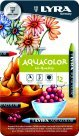 Lyra Aquacolor Non-Toxic Water Soluble Wax Crayon44; Assorted Color44; Pack - 12