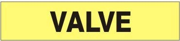 Valve – Pipe Marker - 18 Max 58% 5 popular OFF Units Adhesive Vinyl-