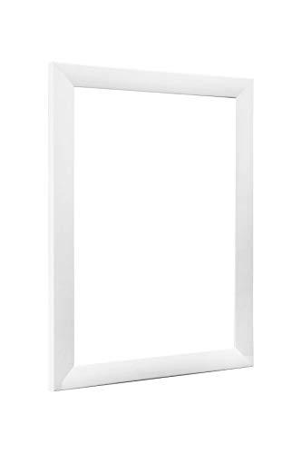 NiRa35-Top Bilderrahmen 40x60 cm in Weiß matt mit Antireflex-Acrylglas