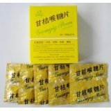 Gumgig Pean Herbal Lozenges for Relief of Throat Irritation Cleaning and Refreshing Breath 20 Tablets/pack