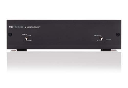 Musical Fidelity V90-BLU5 HD Receptor Bluetooth y convertidor Digital/analógico - Negro