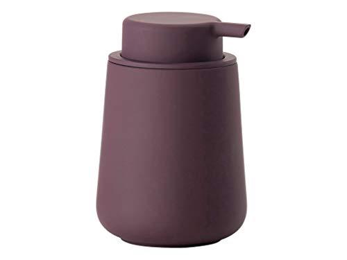 Zone Denmark Nova One Seifenspender für Flüssigseife, Steingut mit Soft Touch-Beschichtung, lila (Velvet Purple)