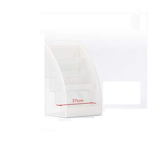 WANGJUNXIU verticale boekenkast, multi-layer-boek krantenreclame, afzonderlijke pagina magazijn Display Rack ijzeren mode bodem promotion 4 lagen informatie opslag rek (afmetingen: 69 cm x 30 cm x 38 cm) papier